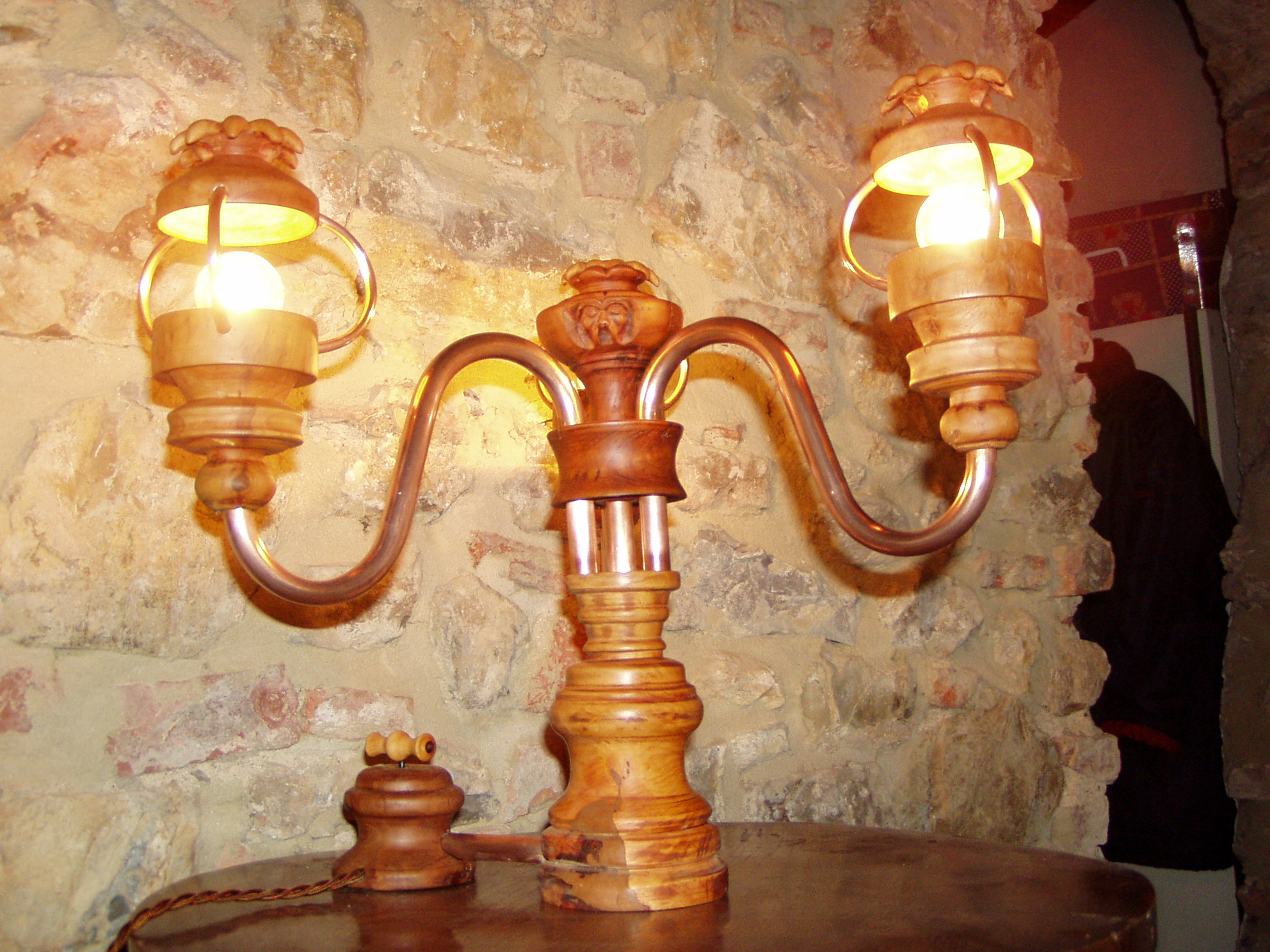 Lampade Con Tubi Di Rame: Lampada tubi di rame lampade con vivere a piedi nudi.