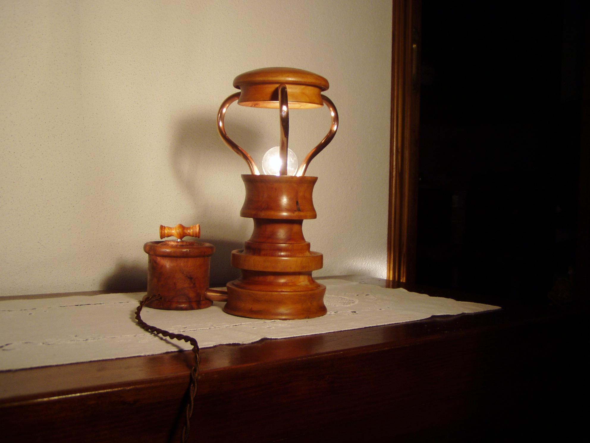 Lampade Artigianali Rame : Lampade artigianali in legno affilia la ...
